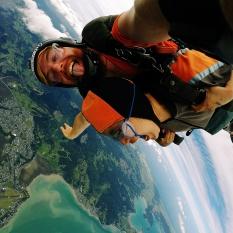 Skydiving - Brave Vulnerable